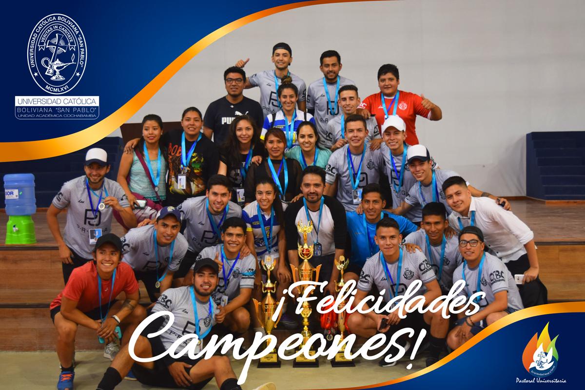 La Ucb Campeon De Los Juegos Universitarios 2018 Universidad