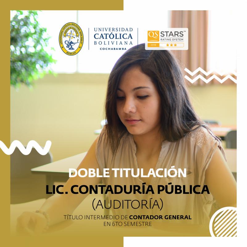 Contaduría Pública (Auditoría)